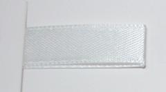 Лента атласная Белый, 12 мм*22,85 м.