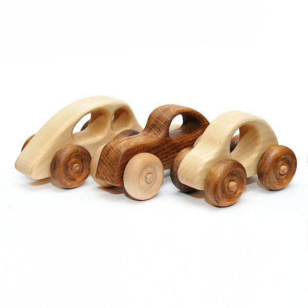 Деревянные машинки Леснушки
