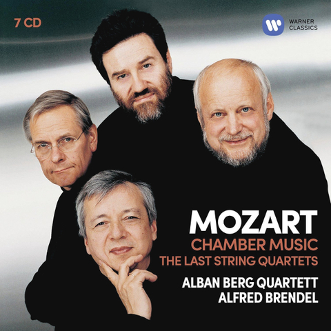 Alban Berg Quartett, Alfred Brendel / Mozart: Chamber Music - The Last String Quartets (7CD)