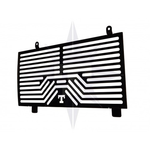 TITAN Защита радиатора F-800 черная
