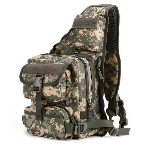 Однолямочный рюкзак подсумок Mr. Martin 5036 ACU