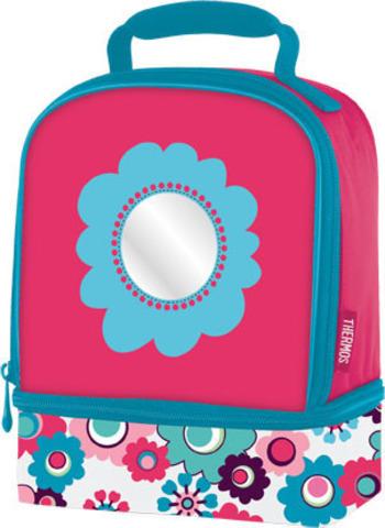 Термосумка детская Thermos Floral Dual розоваяКопировать товар
