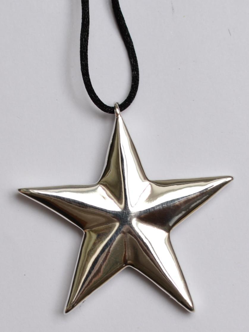d71949469e9d Купить Звезда (кулон из серебра) в ювелирном магазине в Москве ...