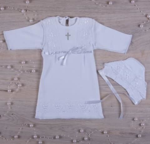 Рубашка для крещения девочке Христина