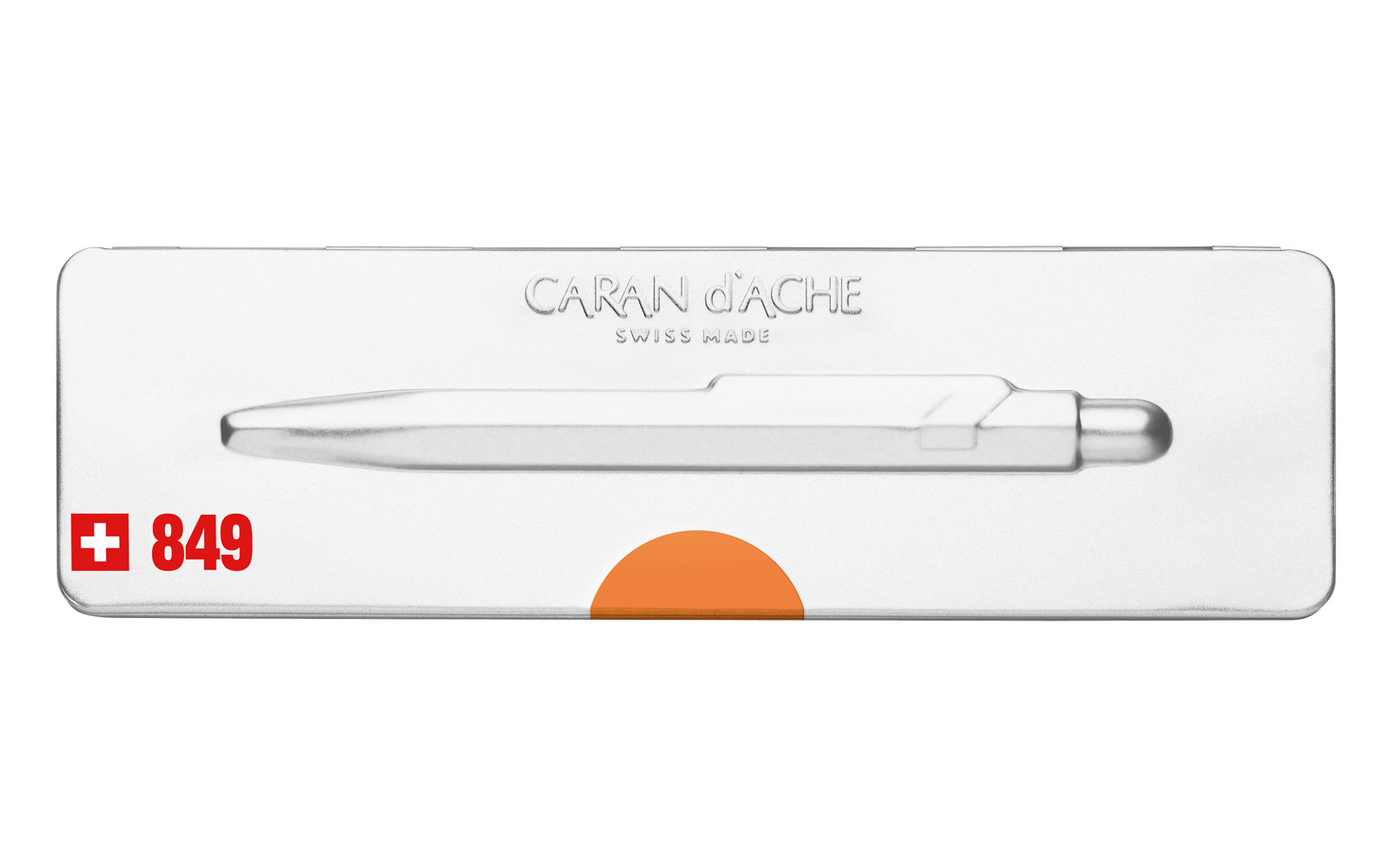 Carandache Office 849 Pop Line - Orange, шариковая ручка, M