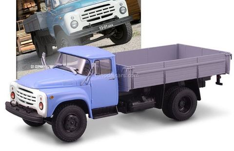 ZIL-130 flatbed truck blue-gray 1:43 DeAgostini Auto Legends USSR Trucks #5