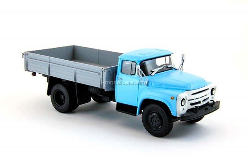ZIL-130 flatbed truck blue-gray 1:43 DeAgostini Auto Legends USSR Trucks #5