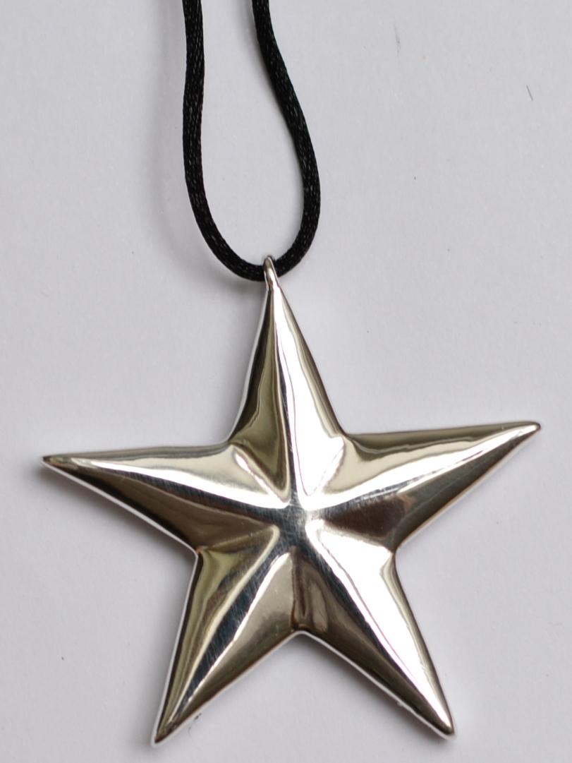 Звезда (кулон из серебра)