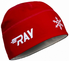 Лыжная шапка RAY RACE Red