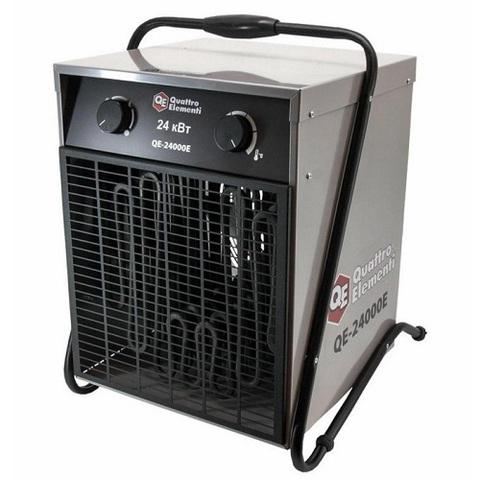 Нагреватель воздуха электрический QUATTRO ELEMENTI QE-24000 E (12 / 24кВт, 380В-3ф, 1700 м3/час)