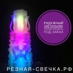 Светодиодная свеча с питанием от сети 17 см