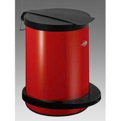 Ведро для мусора 13л Wesco Pedal bin 111 красное