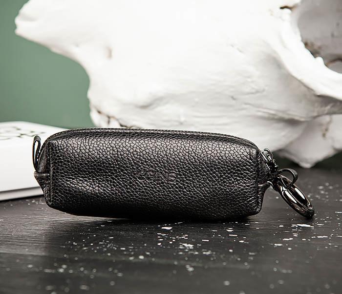 BC218-1 Удобная ключница «Santini» из натуральной кожи с кольцом фото 05