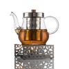 Заварочный чайник 700 мл с подставкой для подогрева
