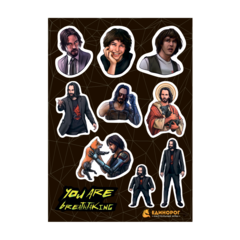 Набор стикеров Keanu Reeves