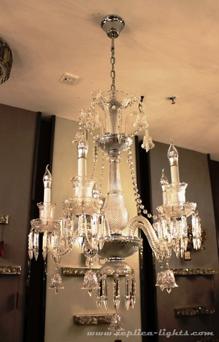 replica BACCARAT ZÉNITH CHANDELIER ( 6 lights & clear colour )