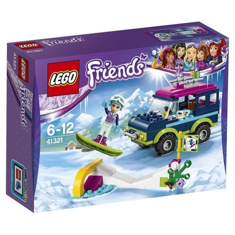LEGO Friends: Горнолыжный курорт: внедорожник 41321 — Snow Resort Off-Roader — Лего Френдз Друзья Подружки
