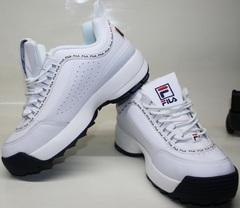 Кроссовки фила белые Fila Disruptor 2 FW01655-114
