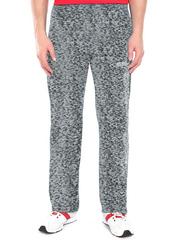 4176-3 спортивные брюки мужские, серый меланж