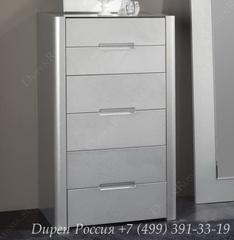 Комод вертикальный DUPEN (Дюпен) S-110 Серебро
