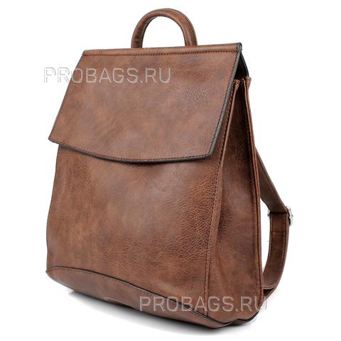 Рюкзак женский PYATO 8888 Коричневый
