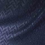 Хлопковый жаккард с добавлением полиэстера синего цвета
