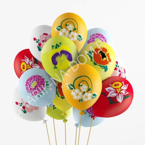 8 марта Воздушные шары Цветочный рай Воздушные_шары_Цветы.jpg