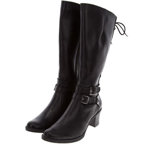 361550 сапоги женские. КупиРазмер — обувь больших размеров марки Делфино