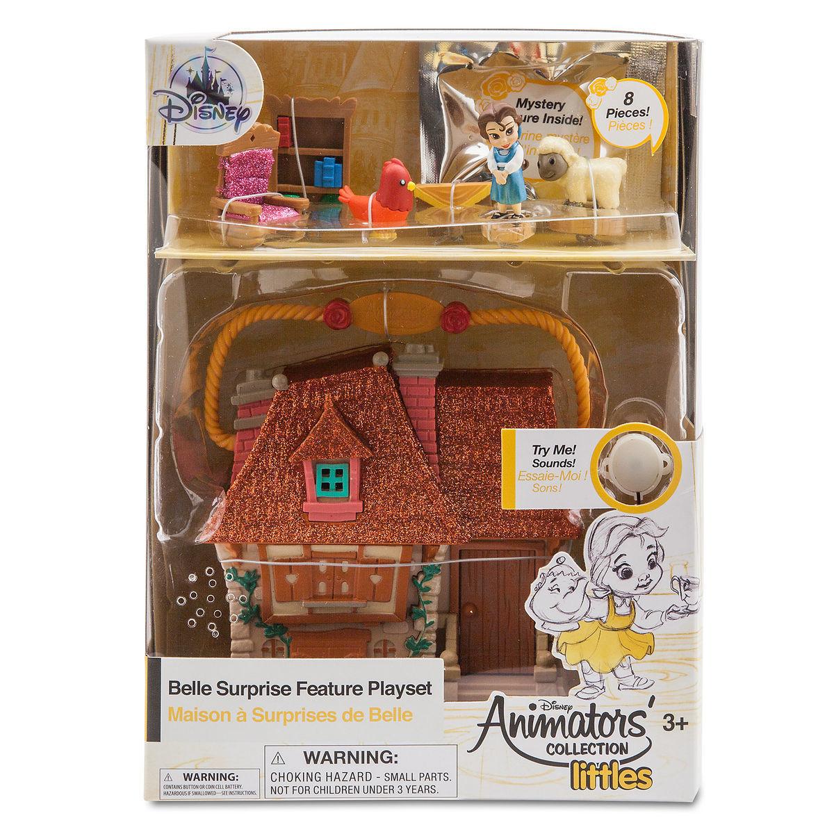 Мини-набор кукол Бэль - Disney Animators' Collection
