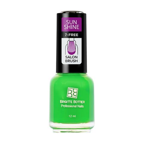 Brigitte Bottier Sunshine лак для ногтей тон 10 сочный зеленый 12мл