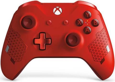Microsoft Xbox One Беспроводной геймпад (красный, особая серия, WL3-00126)