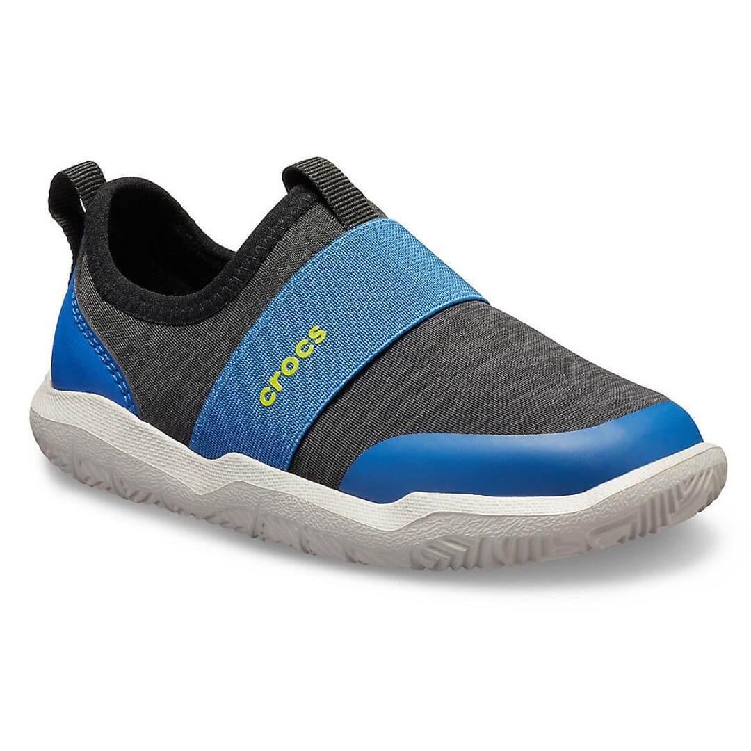 Кроссовки детские CROCS Swiftwater черные с синим