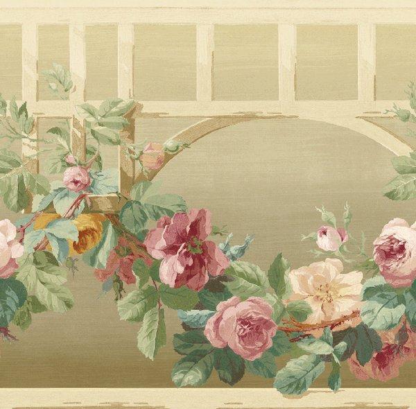 Бордюр KT Exclusive English Rose EN11057B, интернет магазин Волео