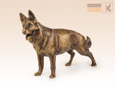 статуэтка Собака Овчарка