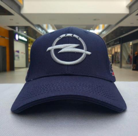 Бейсболка Опель темно-синяя (Кепка Opel)