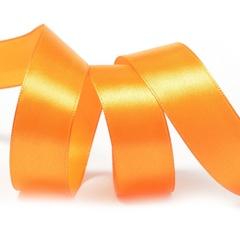 Лента Атлас Оранжевый, 3,8 см * 22,85 м.