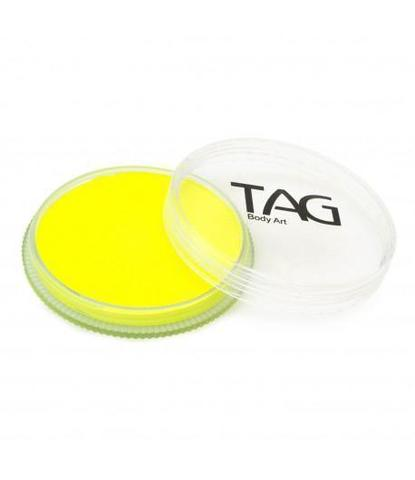 Аквагрим TAG 32гр неоновый желтый