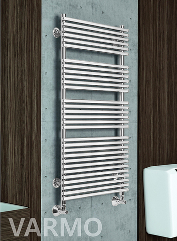 Varmo White  - белый дизайн полотенцесушитель