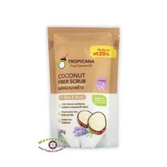 Сухой кокосовый скраб с маслом Лаванды, Tropicana  (Тропикана)