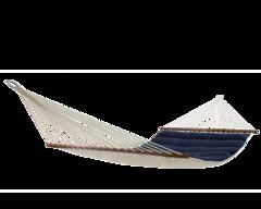 Гамак с планкой семейный Wave темно-синий ARF-07