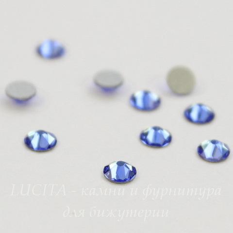 2088 Стразы Сваровски холодной фиксации Sapphire ss12 (3,0-3,2 мм), 10 штук