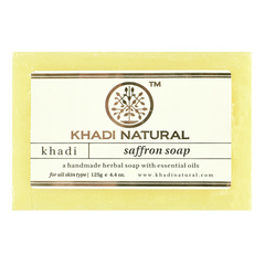 Мыло Khadi Natural 34720.5 (Saffron)