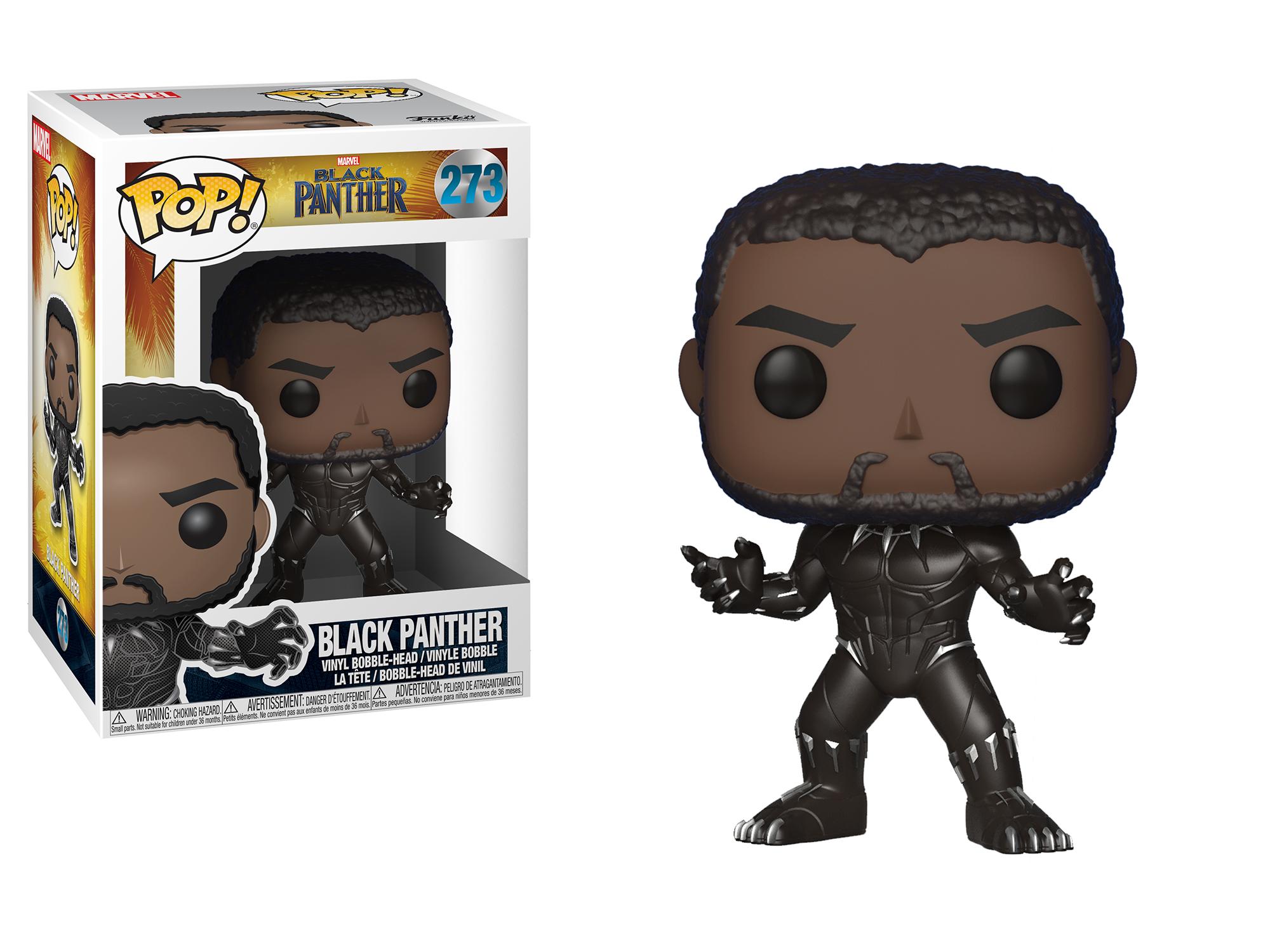 Фигурка Funko POP! Bobble: Marvel: Black Panther: Black Panther 23129
