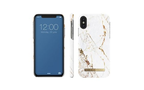 Чехол iDeal of Sweden Carrara Gold IPhone X