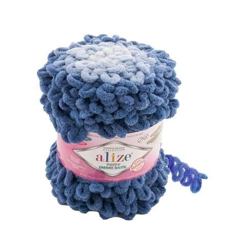 Купить Пряжа Ализе Пуффи Омбре Батик - цвет 7425   Интернет-магазин пряжи «Пряха»