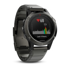 Беговые часы Garmin Fenix 5 Sapphire with Metal Band