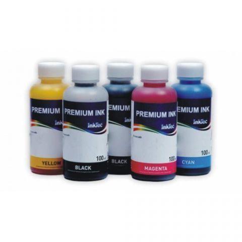 Комплект чернил Inktec для Epson Expression Premium  XP-510, XP-530, XP-540, XP-600, XP630, XP-635, XP-640, XP-645, XP-700, XP-830, XP-900, 5 x 100 мл