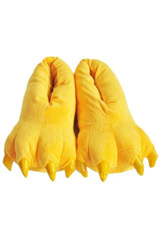 Тапки кигуруми желтые