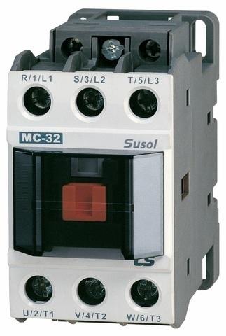 Контактор 4-х полюсный Metasol MC-32a/4P AC220V 50/60Hz, Screw