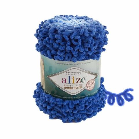 Купить Пряжа Ализе Пуффи Файн Омбре Батик - цвет 7280 | Интернет-магазин пряжи «Пряха»